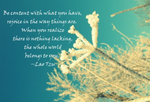 simple living quotations