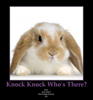 best easter knock knock jokes knock knock who s there easter easter ...