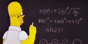 Homer's insights into math and physics Screenshot: Huffington Post ...