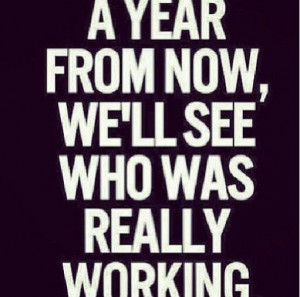 Grind Mode..a month, two months, 6 months a year!