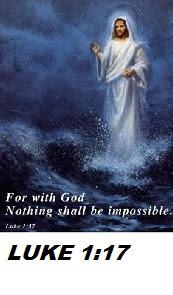 Good Morning Gospel of Luke, Bible verse Luke 1:17