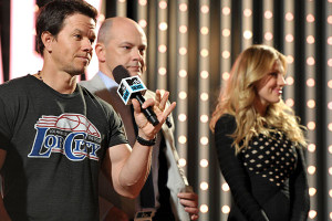 Bar Paly And Mark Wahlberg
