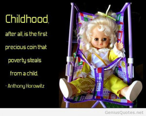 Childhood celebrities quote