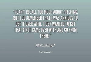 Quotes About Pitching
