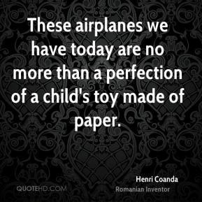 More Henri Coanda Quotes