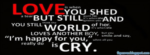 Love, quote, facebook, cover, timeline, fbpcover