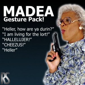 whether its calling its calling audience but with tyler perrymadea