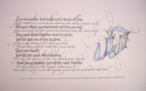 Wedding Quotes Kahlil Gibran