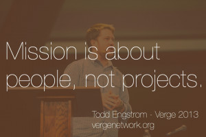 we are addicted to and obsessed with the work of the kingdom