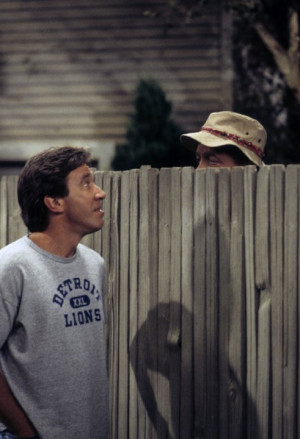 Still of Tim Allen and Earl Hindman in Home Improvement (1991)