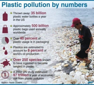 Plastic pollution worldwide: facts and statistics.
