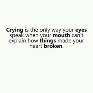 25 Sad Quotes About Crying