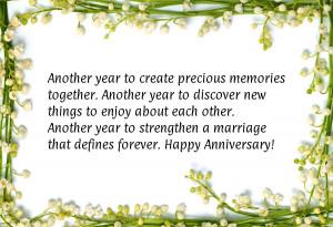 Wedding anniversary quotes: romantic anniversary quotations, Wedding ...