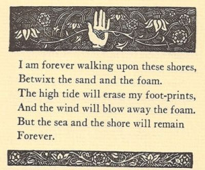don't know why but I love little poems about the ocean and such. :)