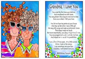 Love You Grandma Lovely...