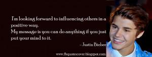 Justin Bieber Quotes Cover Photos