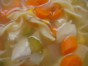 40 Min. Chicken Noodle Soup