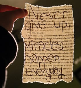 Miracles Quotes & Sayings