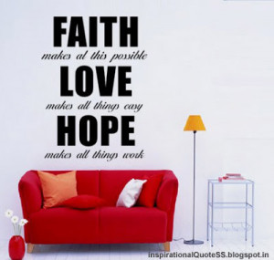 Believe hope faith quotes images