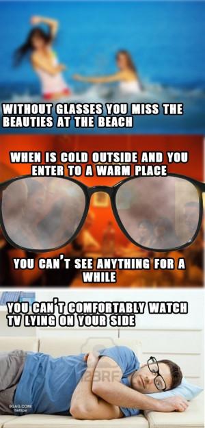 Hate Wearing Glasses