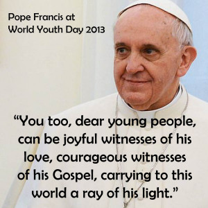 Pope Francis Welcomes Pilgrims at WYD
