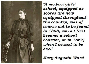 Mary augusta ward famous quotes 1