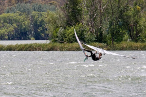 Windsurfing Lake Burley Griffin picture