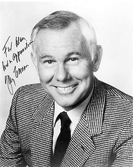 Johnny Carson photograph