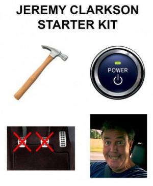Jeremy Clarkson Starter Pack