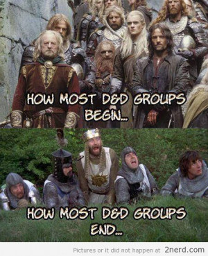 Dungeons and Dragons IRL