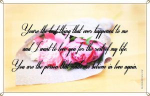 You're The Best Thing That Ever Happened To Me, Picture Quotes, Love ...
