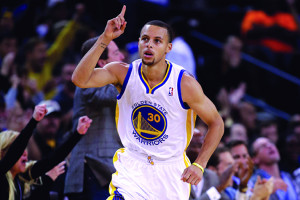 Stephen Curry, a devout Christian NBA player, played in his first NBA ...