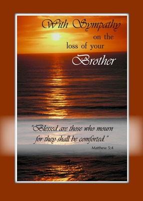 Quotes About Losing A Brother. QuotesGram