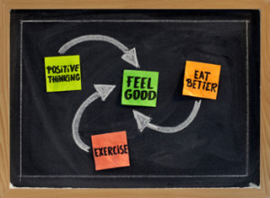 Use these tips to stay positive, no matter what challenges life is ...