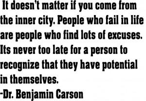 dr ben carson quotes