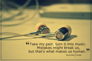 Pain inspirational song quotes