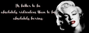 Dont be boring Facebook Cover