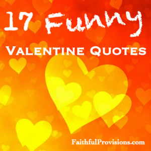 Funny Quote Valentine Cards
