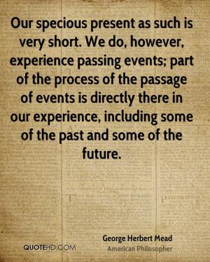 George Herbert Mead Quotes