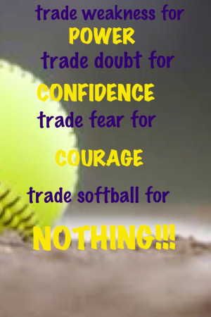 Softball Mom Quotes