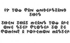 real Pokemon fans can read this - pokemon Photo