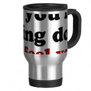 Feeling Down 15 Oz Stainless Steel Travel Mug