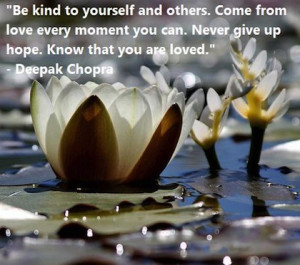 come from love Deepak Chopra Picture Quote