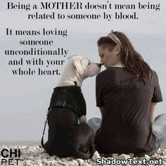 Mother Means Unconditional Love