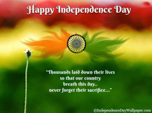Happy Independence Day Quotes In English 2014