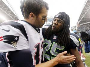 Tom Brady's response to Richard Sherman: My dad taught me to 'play ...
