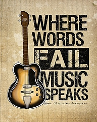 My guitar is not a thing. It is an extension of myself. It is who I ...