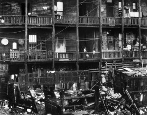 Chicago Slums 1890s