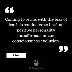 Coming to terms with the fear of death is conducive to healing ...