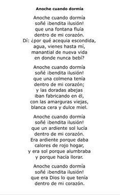 que poema tan hermoso! Antonio Machado